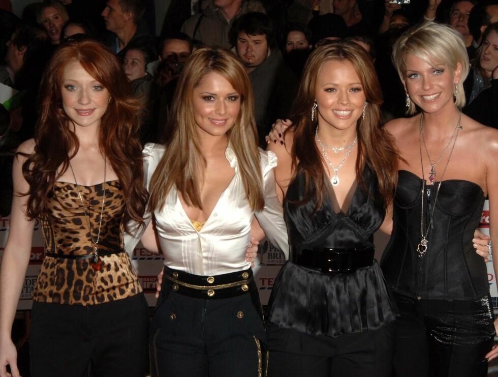 TRØST: Sarah søker nå trøst hos sine venninner i popgruppen Girls Aloud. Foto: STELLA PICTURES