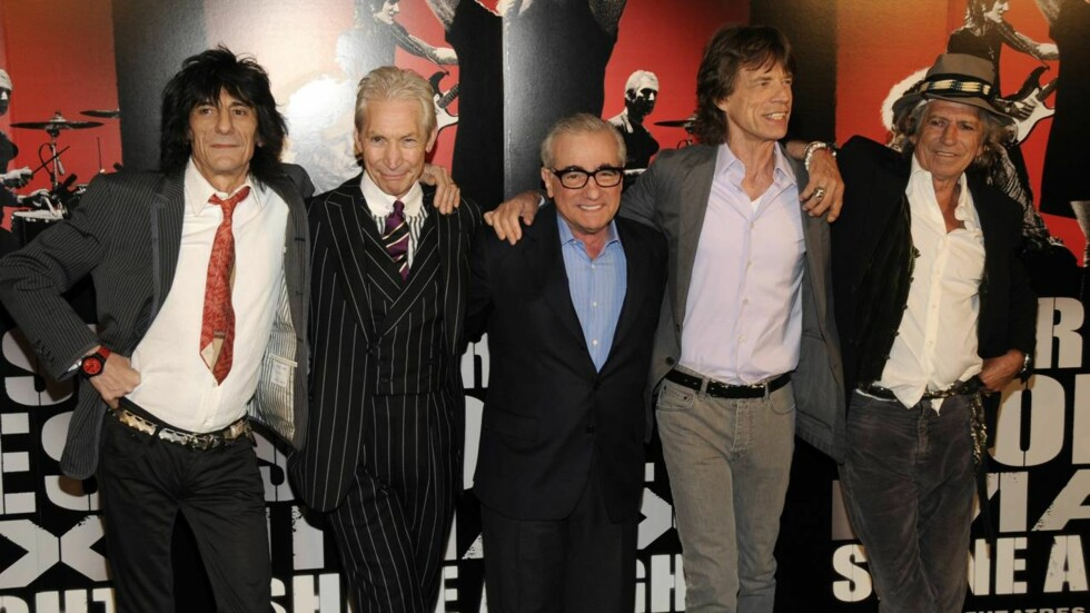 BRYLLUPSKLARE: Bryllupsplanleggerne søker fem dverger, som i tillegg til en ekstrainntekt mest sannsynlig får treffe Rolling Stones-gjengen. På bildet er  gitarist Ronnie Wood, trommis Charlie Watts, sanger Mick Jagger og gitarist Keith Richards. Her m Foto: All Over Press