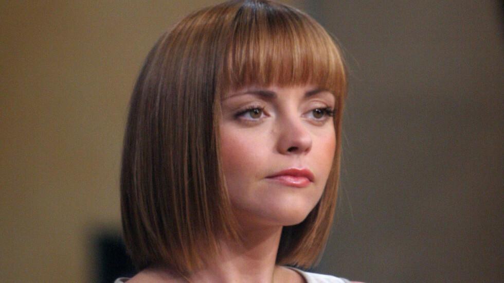 LEI: Christina Ricci raser mot skuespillere som spiller strippere i filmer. - Det pleide å være noe vi var flaue over, sier hun. Foto: All Over Press