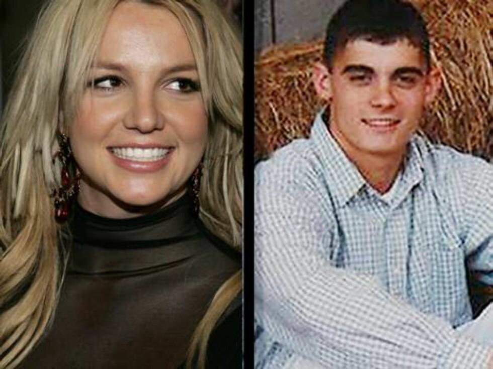 SKILT: ... For ekteskapet mellom Spears og barndomskameraten Jason Alexander var over innen to dager! Foto: AP/Scanpix