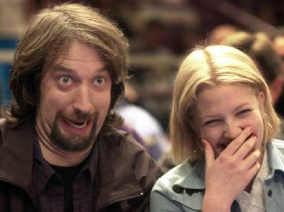 EKSKONA: I 2001 skilte Drew Barrymore seg fra Tom Green etter bare seks måneders ekteskap. Foto: NTB Scanpix