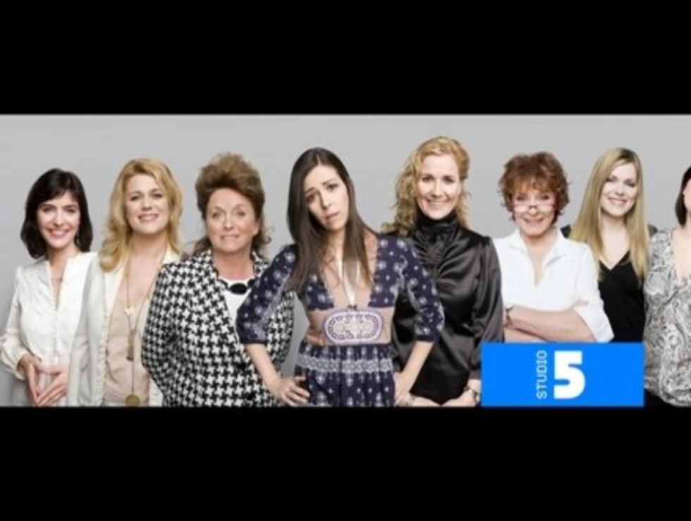 """MINDRE KAKLING: Jentene i """"Studio 5"""" har trolig tatt til seg kritikken, og serverte en bedre oppfølger til premiereshowet onsdag. Foto: TVNorge"""