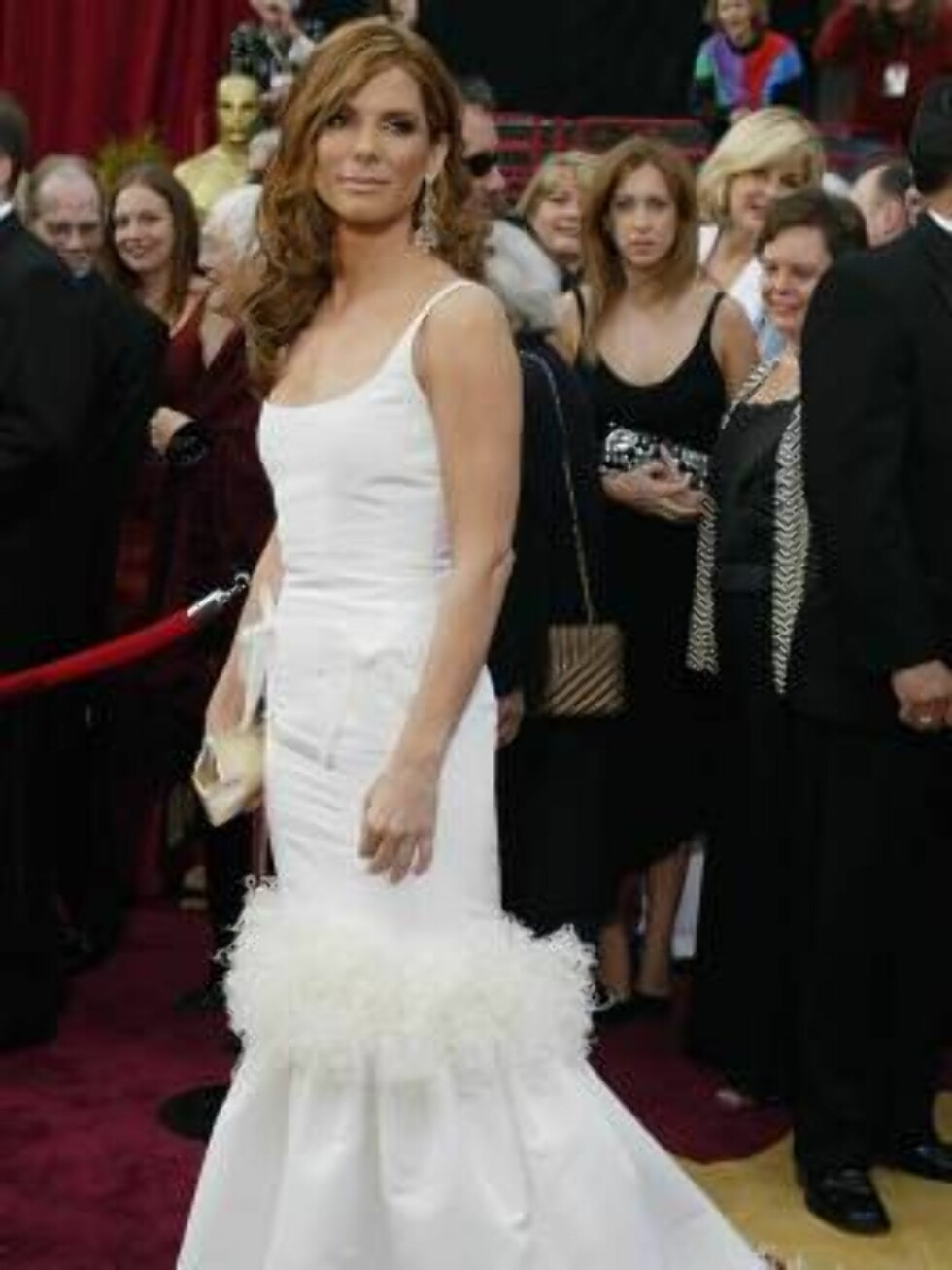 HOLLYWOOD, CA - FEBRUARY 29:  Actress Sandra Bullock attends the 76th Annual Academy Awards at the Kodak Theater on February 29, 2004 in Hollywood, California.  (Photo by Carlo Allegri/Getty Images) / ALL OVER PRESS *** Local Caption *** Sandra Bullock Foto: All Over Press