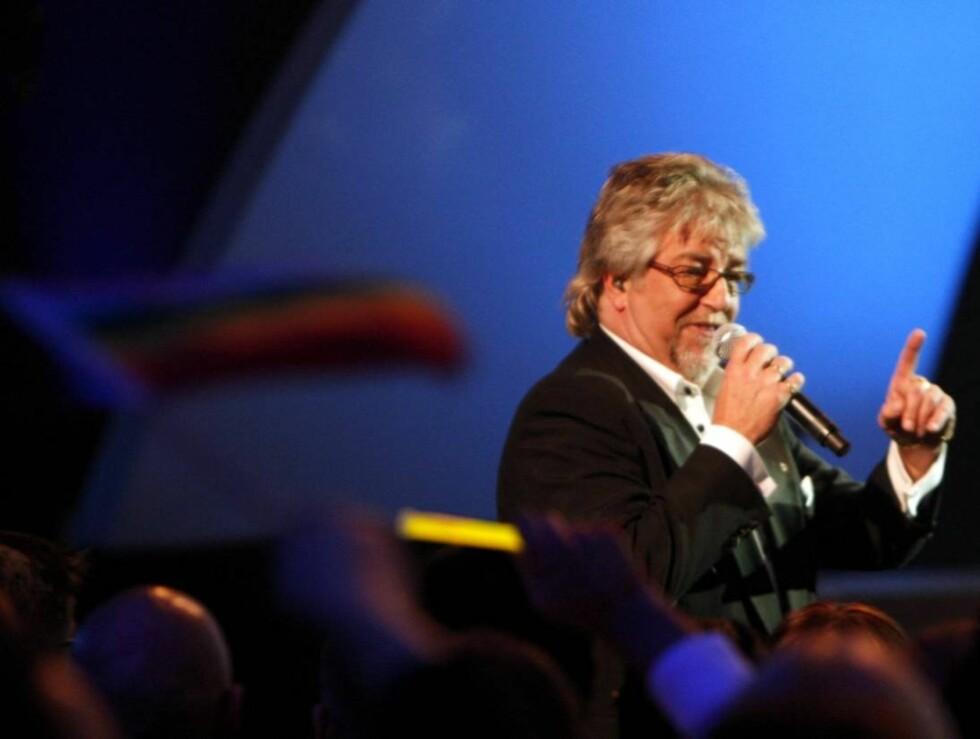 "GA ALT: Ole Ivars ga alt med ""Som i himmelen"", men det holdt ikke til gull-finale. Foto: SCANPIX"