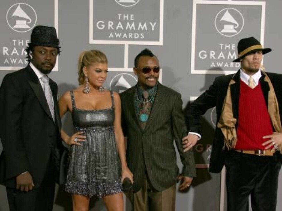 LOS ANGELES, CA - FEBRUARY 11: Musicians will.i.am, Fergie, apl.de.ap, and Taboo of the Black Eyed Peas arrive at the 49th Annual Grammy Awards at the Staples Center on February 11, 2007 in Los Angeles, California.  (Photo by Frazer Harrison/Getty Images) Foto: All Over Press
