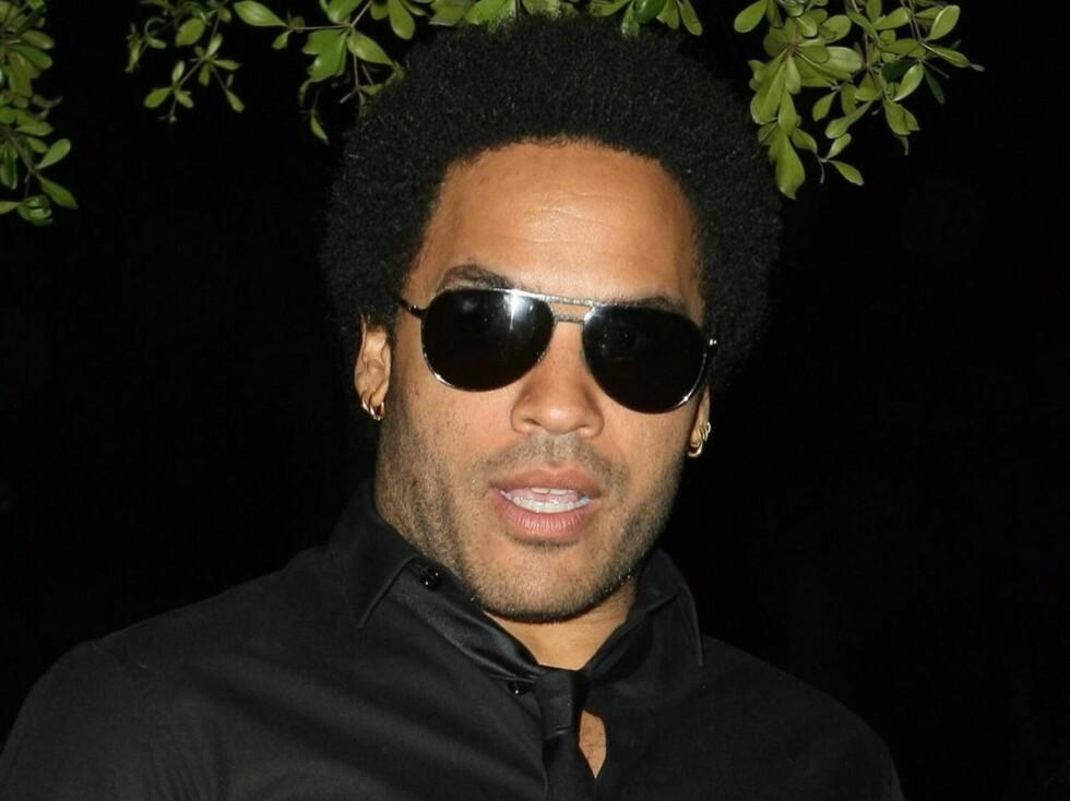 NEI TIL SEX: Lenny Kravitz skal ikke ha sex før han gifter seg. Foto: All Over Press