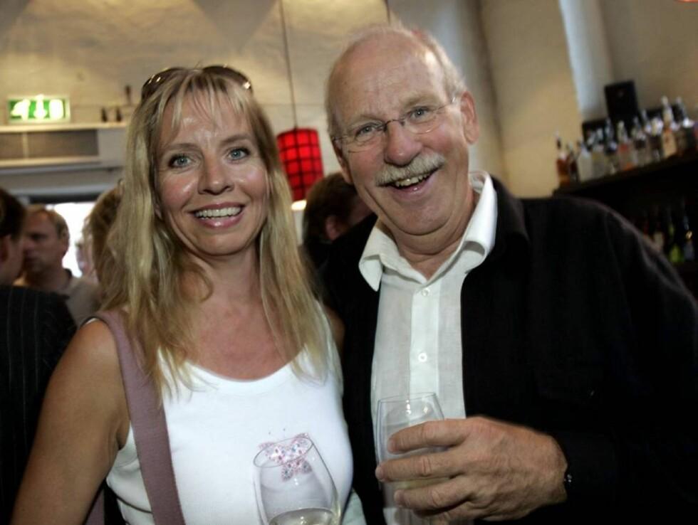 ONKEL JON: Jon Skolmen er Hege Schøyens onkel. Det vil si at hun er kusine til Tine og Christian Skolmen. Foto: SCANPIX