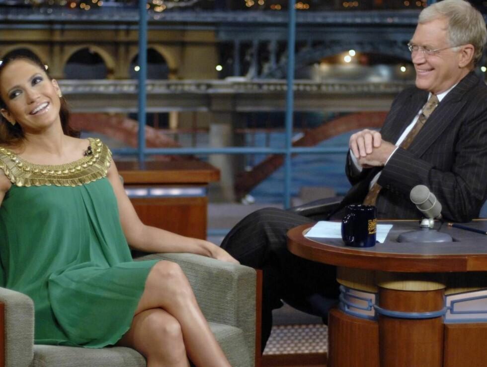"""TOM FOR ORD: Tv-vert David Letterman og hans """"Late Show"""" er blant de som vil rammes først av skribentstreiken. Foto: AP"""