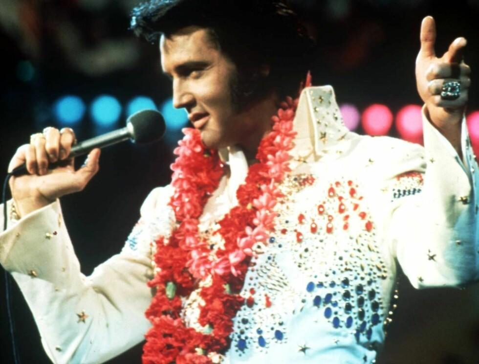 PÅ TOPP IGJEN: Elvis Presley datt ned på andreplas på Forbes liste i fjor, etter at Kurt Cobains sanger ble solgt. Nå er han tilbake der han stort sett alltid har vært - på topp. Foto: SCANPIX