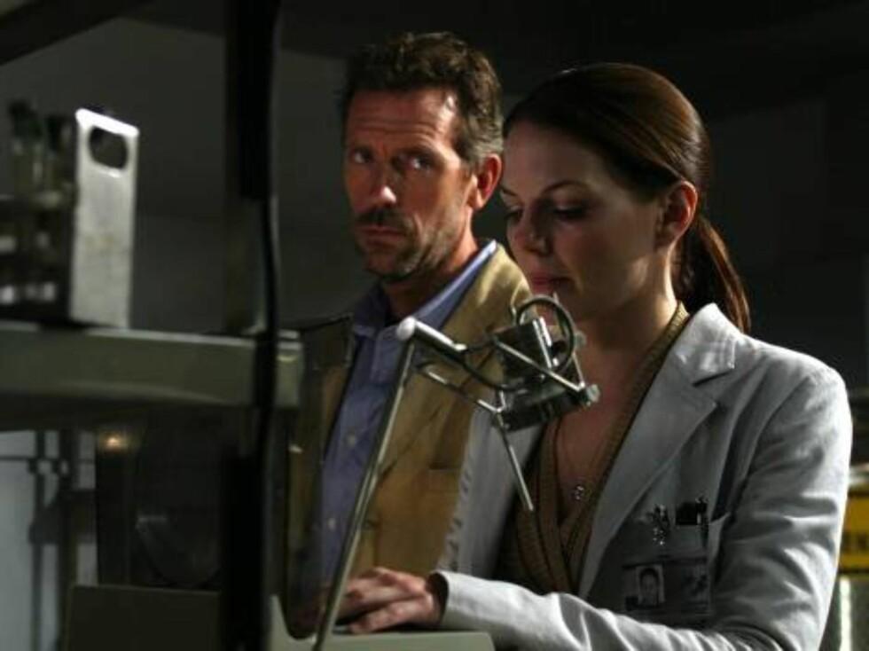 FLOTT: Jennifer Morrison har nok sjarmert mange som den flotte legen Alison Cameron i House. Foto: NRK