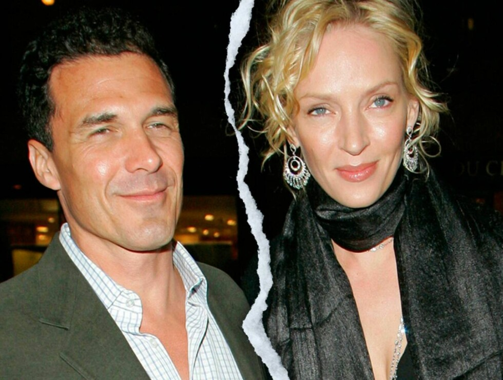 OVER: Det planlagte bryllupet til Uma Thurman og André Balazs er avlyst.