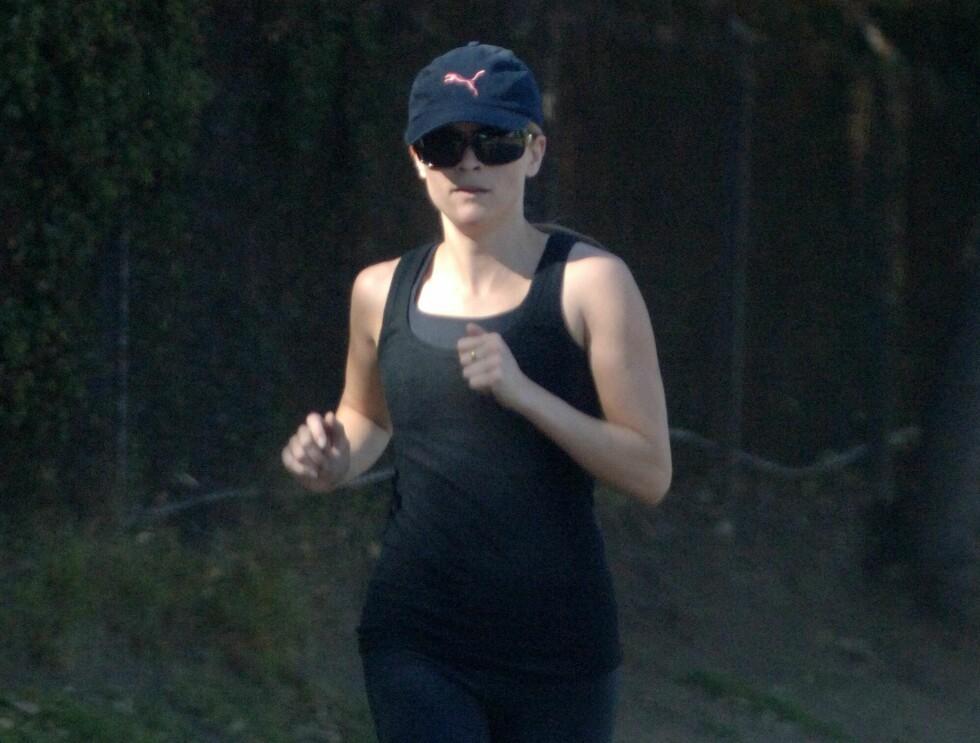 SER FANTASTISK UT: Reese Witherspoon er i bedre form enn på lenge. Foto: All Over Press