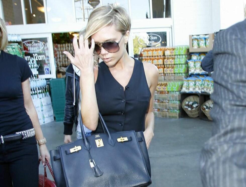NÅ: Mager og blond har Posh inntatt California og drømmer om en ny karriere i USA. Foto: All Over Press