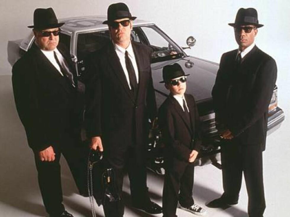 The Blues Brothers har gjort Ray-Ban Wayfarers til sitt kjennemerke.