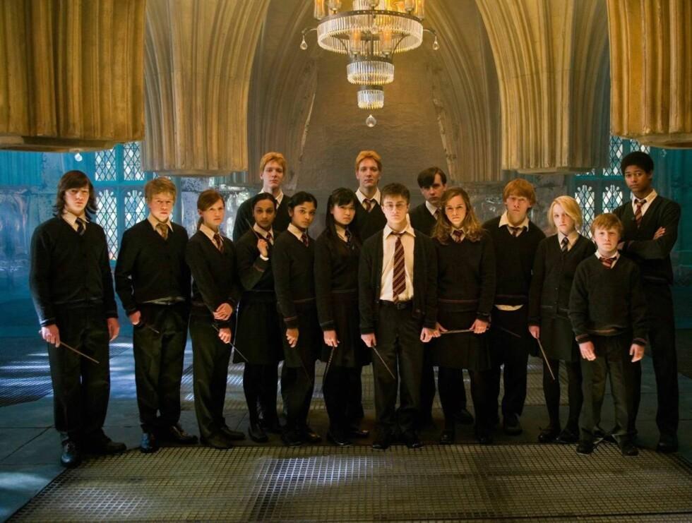"ORDEN: Emma er imidlertid med når ""Harry Potter and the Order of the Phoenix"" slippes til sommeren. Foto: Filmweb"