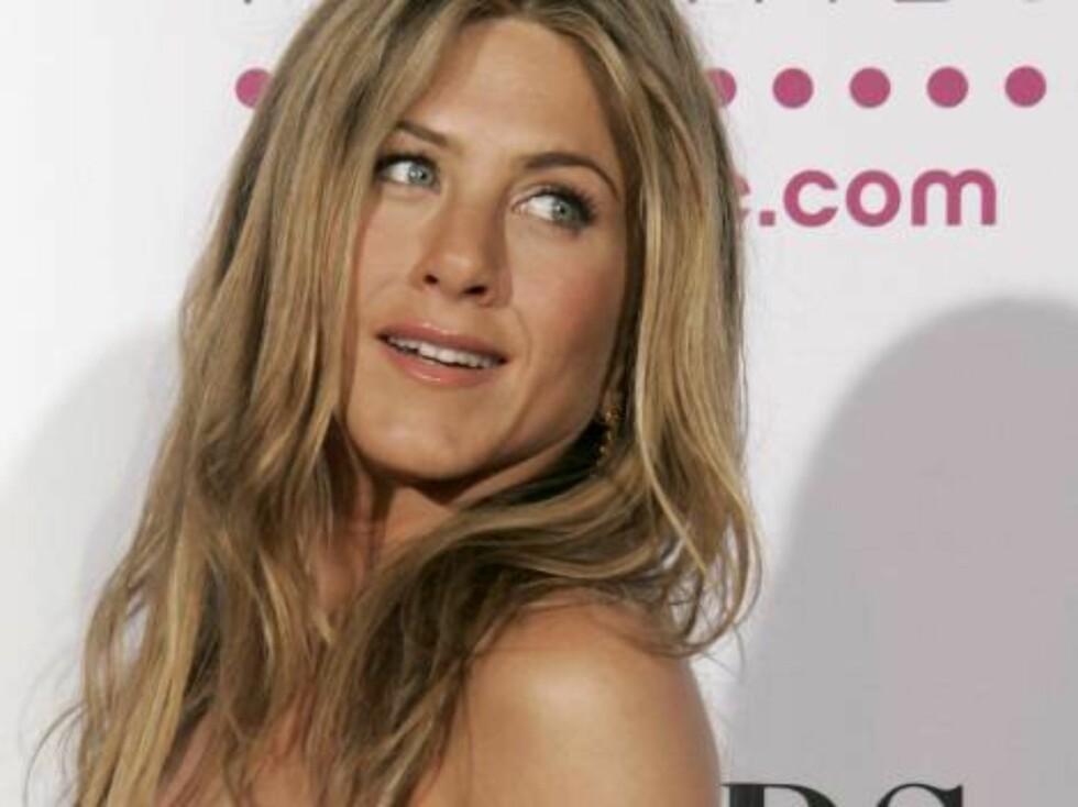 FLOTT?: Jennifer Anistons hår er fortsatt like populær nå som på 90-tallet. Foto: AP/Scanpix