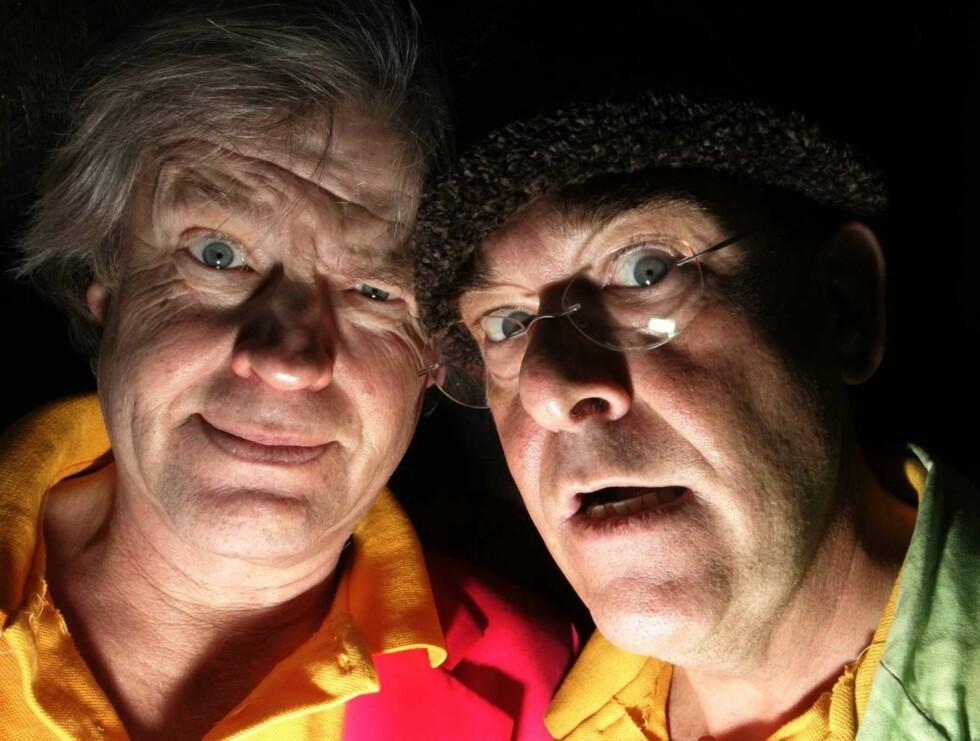 GIR SEG: Tom Mathisen og Herodes Falsk vil slutte med live-show. Foto: SCANPIX