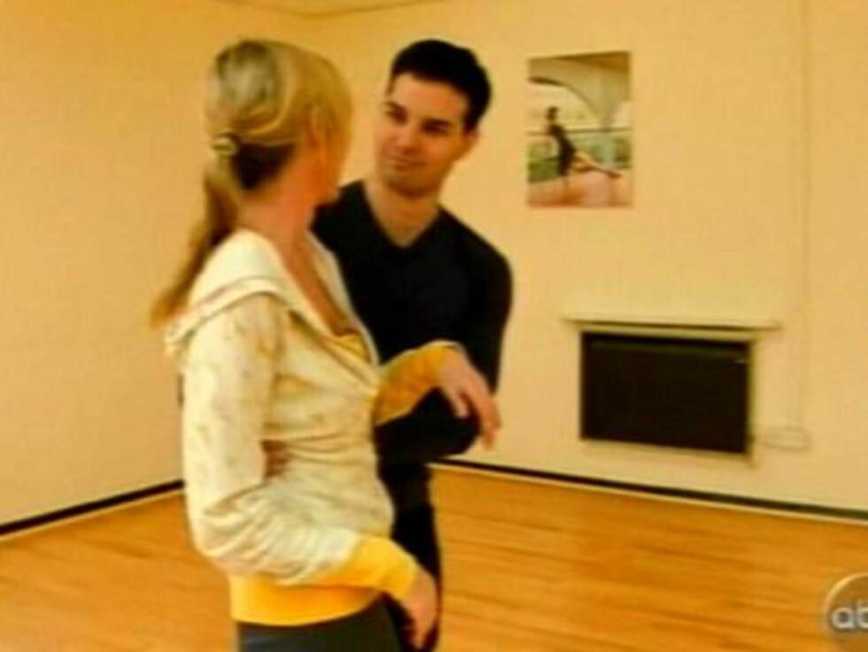 """PIONER: Heather Mills er den første med protese som deltar i den amerikanske versjonen av """"Skal vi danse?"""". Foto: Splash"""
