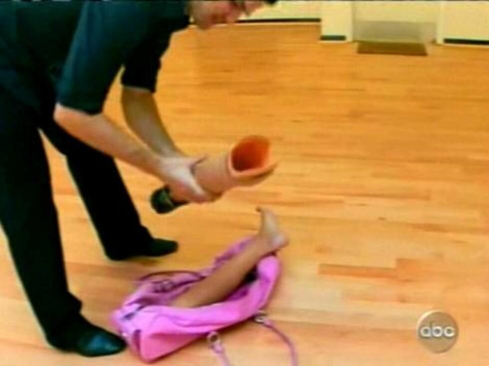 """PIONER: Heather Mills er den første med protese som deltar i den amerikanske versjonen av """"Skal vi danse?"""". Foto: All Over Press"""