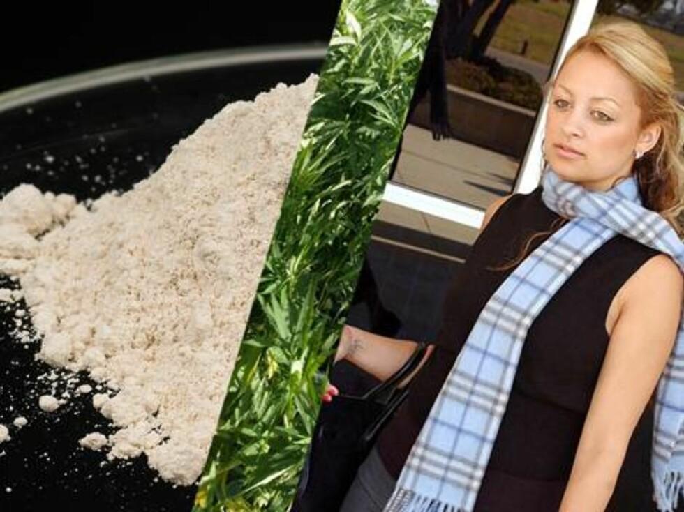 SKANDALE: Rebellen Nicole Richie ble i 2003 siktet for besittelse av heroin, og har siden den gang blitt tatt for blant annet narkokjøring på motorveien. På bildet er hun på vei inn i sin første rettsak... Foto: All Over Press