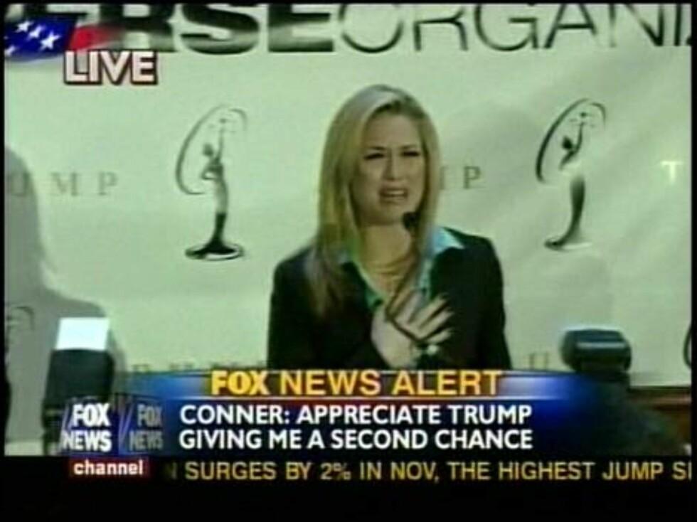 SKANDALE: Miss USA Tara Conner sørget for en heidundrende narkoskandale da hun innrømmet bruk av kokain. Men heldigvis for Tara: Folk glemmer lett. Foto: All Over Press