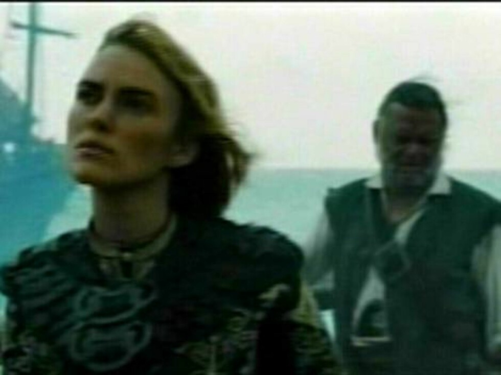 First glimpse at the third 'Pirates of the Caribbean' movie.  A new trailer for 'Pirates of the Caribbean: Edge of the World' was premiered last night on US TV.  Pictured:  Keira Knightley   Ref: FVG JWLA 190307 B   Splash News and Picture Foto: All Over Press