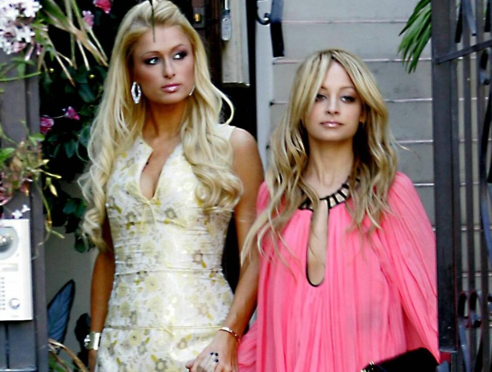 """ENKLE LIV: Paris og Nicole er klare til å sjokkere USA i sin nye sesong med TV-serien """"The Simple Life"""". Foto: Stella Pictures"""