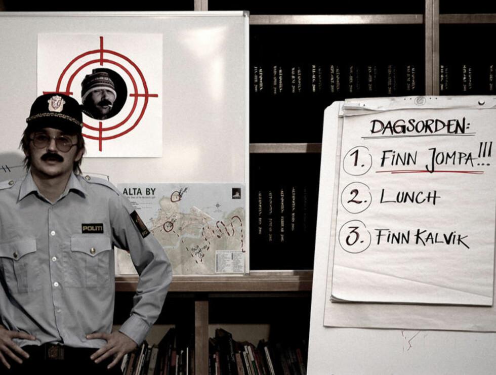 TØFF TULLING: Politimannen Sid Wisløff (spilt av Tommy Wirkola) er en av filmens kulere karakterer.