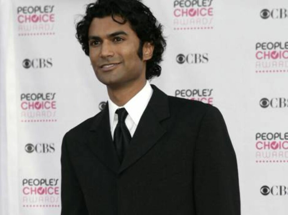 """TV-KJEKKAS: Sendhil Ramamurthy fra """"Heroes"""" Foto: All Over Press"""