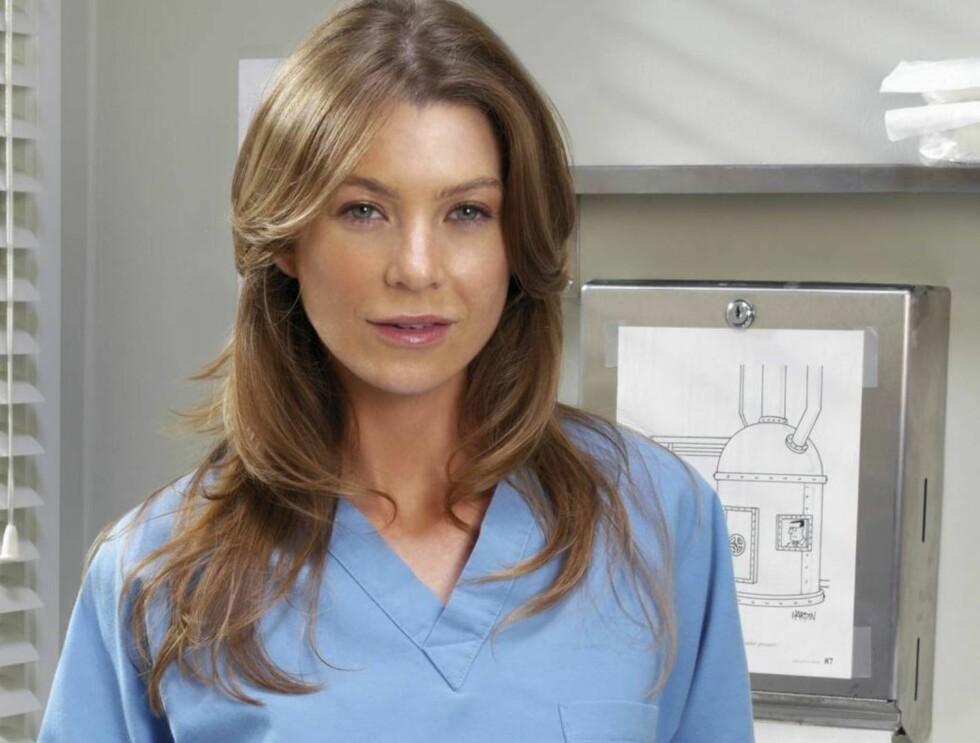 GOD LØNN: Ellen Pompeo er desidert den best betalte legen i Grey's Anatomy. Foto: TV 2