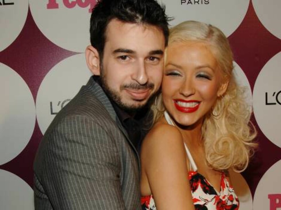 Christina Aguilera, Jordan Bratman Photo by Luis Martinez/Splash News People Magazine and Beyonce Host a Special Post Grammy Party at the ELEVEN  February 11, 2007 - West Hollywood, California  Ref: LOLA 110207 A  Splash Ne Foto: All Over Press