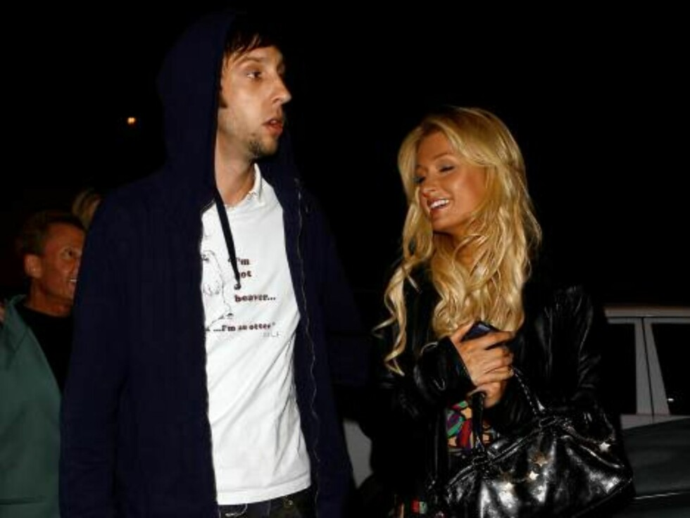 Paris Hilton found a new boyfriend in co-star Joel Moore from the movie The Hottie and the Nottie Feb 2, 2007 X17online exclusive Foto: All Over Press