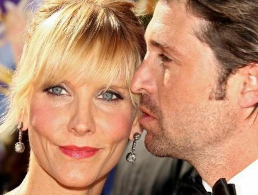 FLOTT PAR: Patrick Dempsey med kona Jillian Fink Foto: All Over Press