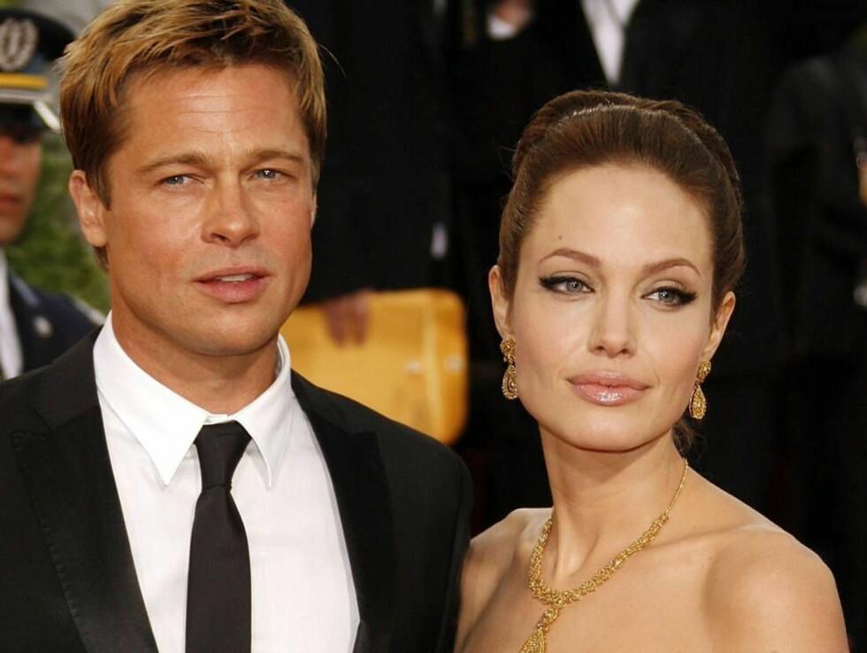 BLIR FORELDRE IGJEN: Om to uker  får Angelina Jolie og Brad Pitt en sønn fra Vietnam. Foto: All Over Press