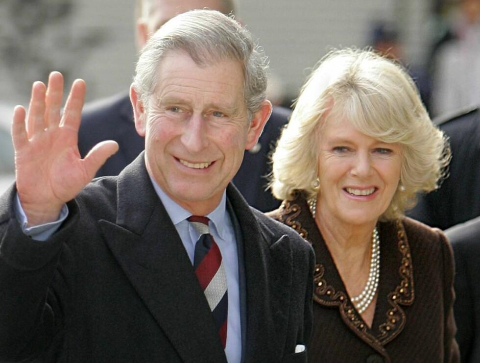 KLARE: Prins Charles og hans Camilla blir besteforeldre til høsten. Foto: All Over Press