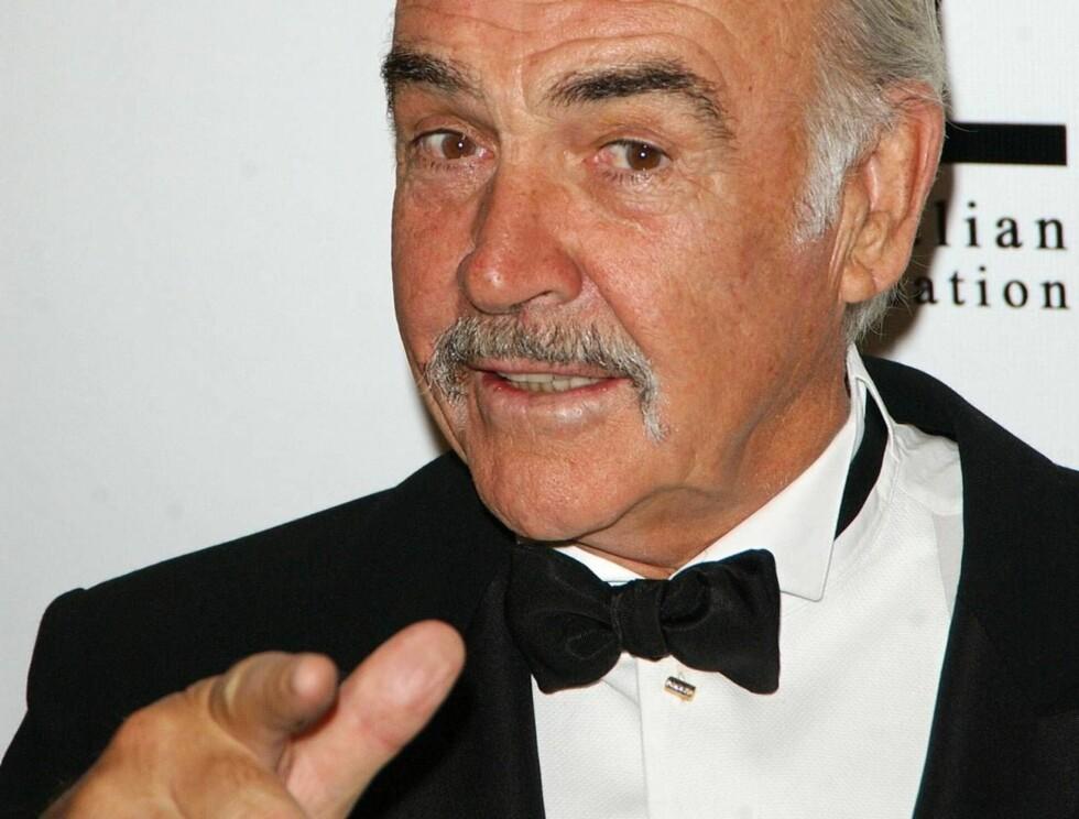 MY NAME IS BOND, DADDY BOND: Det eneste som kan få sir Connery tilbake som skuespiller, er en velskrevet rolle som James Bonds pappa! Foto: All Over Press