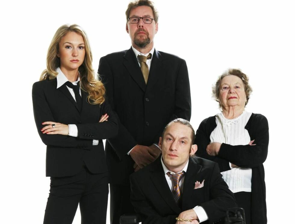 RIKETS RØST: Pia Haraldsen finner ikke på alle morsomhetene selv, avslører Dagbladet. Foto: TV 2