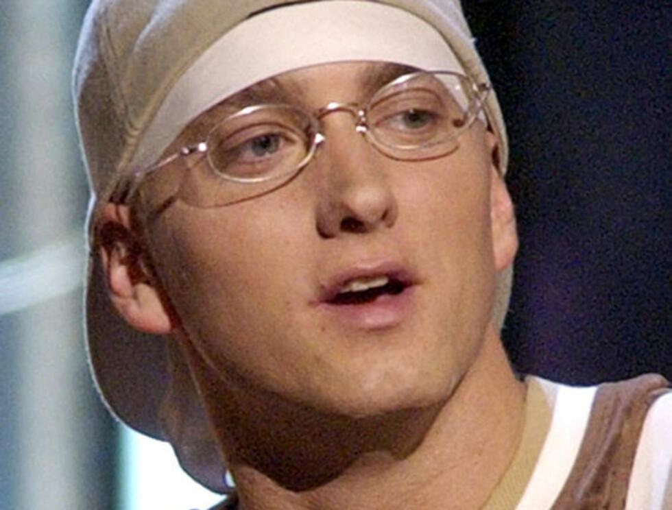 PORNOSKUESPILLER?: Eminem har prøvd seg som artist og skuespiller... Nå blir han å se i en pornofilm! Foto: AP/Scanpix