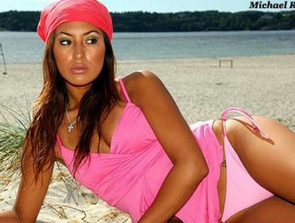 CYNTHIA RENGIFO: Er oppkalt etter Miss Peru 1982. Stikker hun av med Frøken Norge 2007 tittelen? Foto: www.froken.no