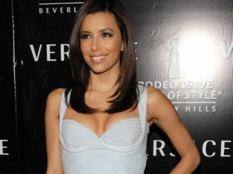 LOS ANGELES 2007-02-08.  Eva Longoria at the Rodeo Drive Walk of Style Award honoring Gianni and Donatella Versace at the Beverly Hills City Hall in Los Angeles on February 8th, 2007.   Photo by Lionel Hahn/AbacaUsa Code: 4001/A36183  COPYRIGHT STELLA PIC Foto: Stella Pictures