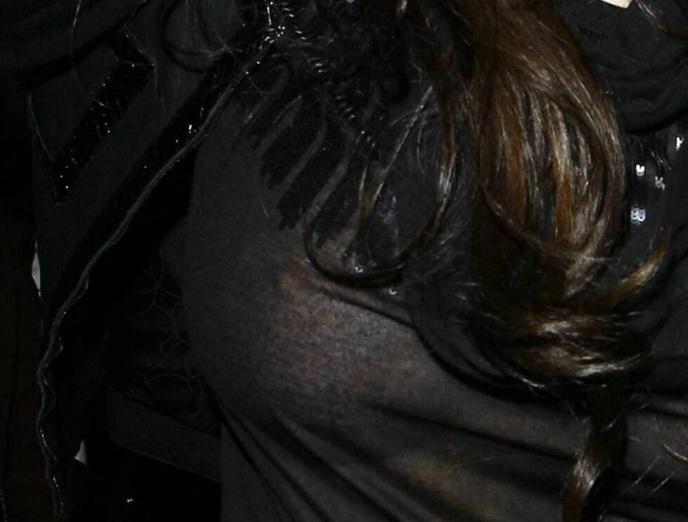 FRYSEPUPP: Lindsay overlater lite til fantasien... Foto: All Over Press