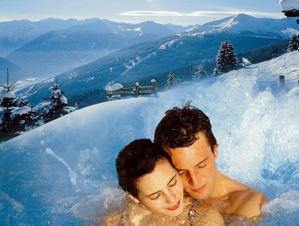 VARME KILDER: Helse - og skiferie kanvære romantisk også. Foto: GASTEINERTAL TOURISMUS