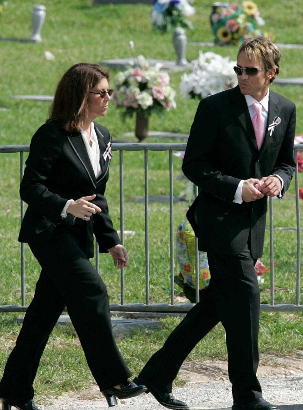 MULIG FAR: Larry Birkhead er en av de mulige fedrene til Annas unge datter. Foto: AP