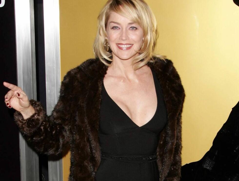 SEX-SYMBOL: Det er ingen tvil om at Sharon Stone er en flott kvinne. Foto: Stella Pictures