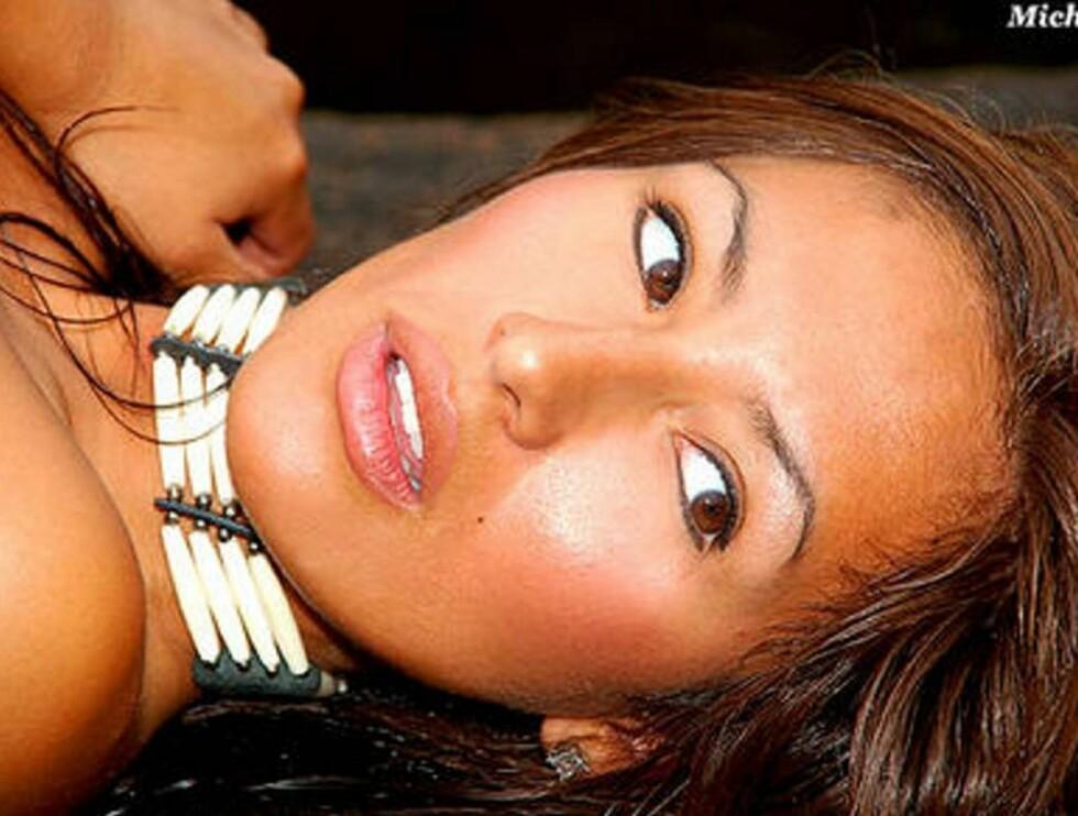 EKSOTISK FRØKEN: Cynthia har et fornavn å leve opp til. Hun er nemlig oppkalt etter Miss Peru 1982. Foto: www.froken.no