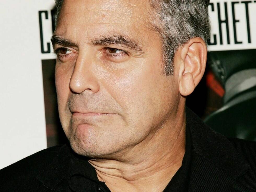 SUPERMANN: George Clooney er beundret av både kvinner og menn verden over! Foto: All Over Press