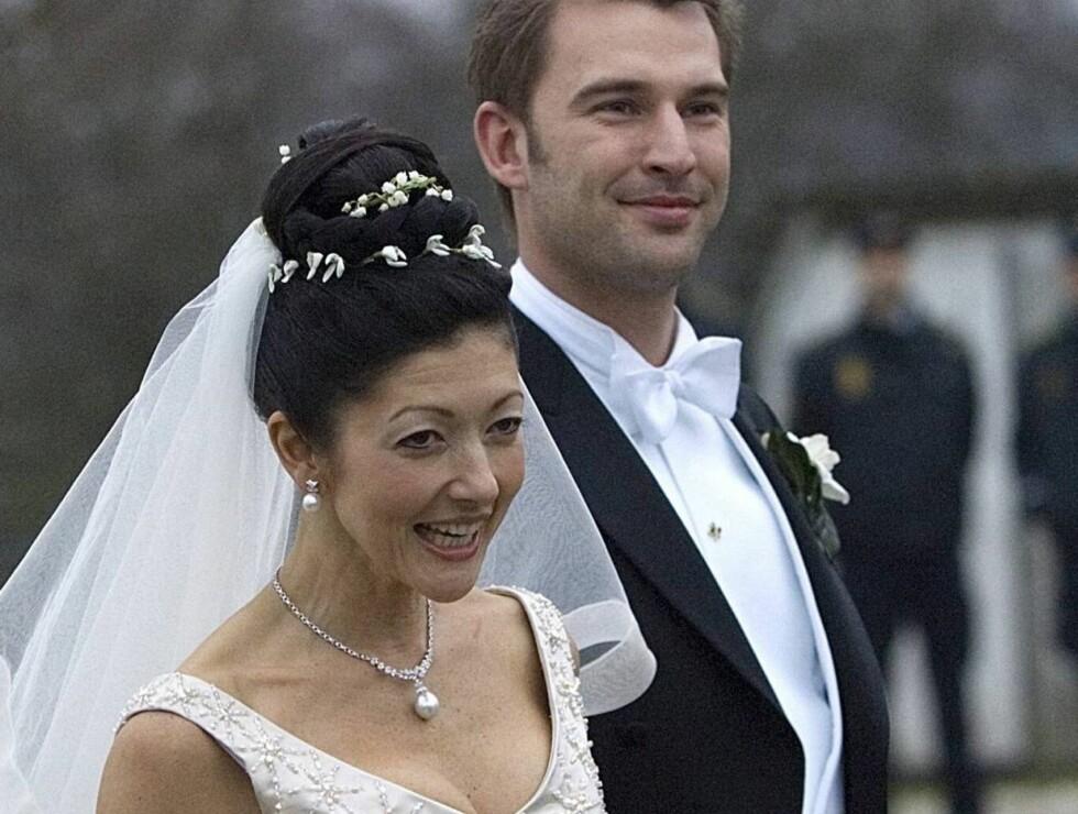 IKKE SAMME ADRESSE: Ifølge det danske folkeregisteret bor ikke det nygifte paret sammen... Foto: SCANPIX
