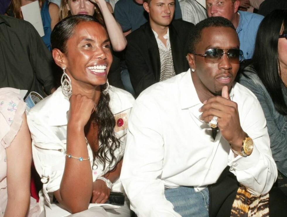 IKKE IMPONERT: P Diddys kjæreste Kim Porter er neppe imponert over at han igjen har havnet i trøbbel med lovens lange arm. Foto: All Over Press