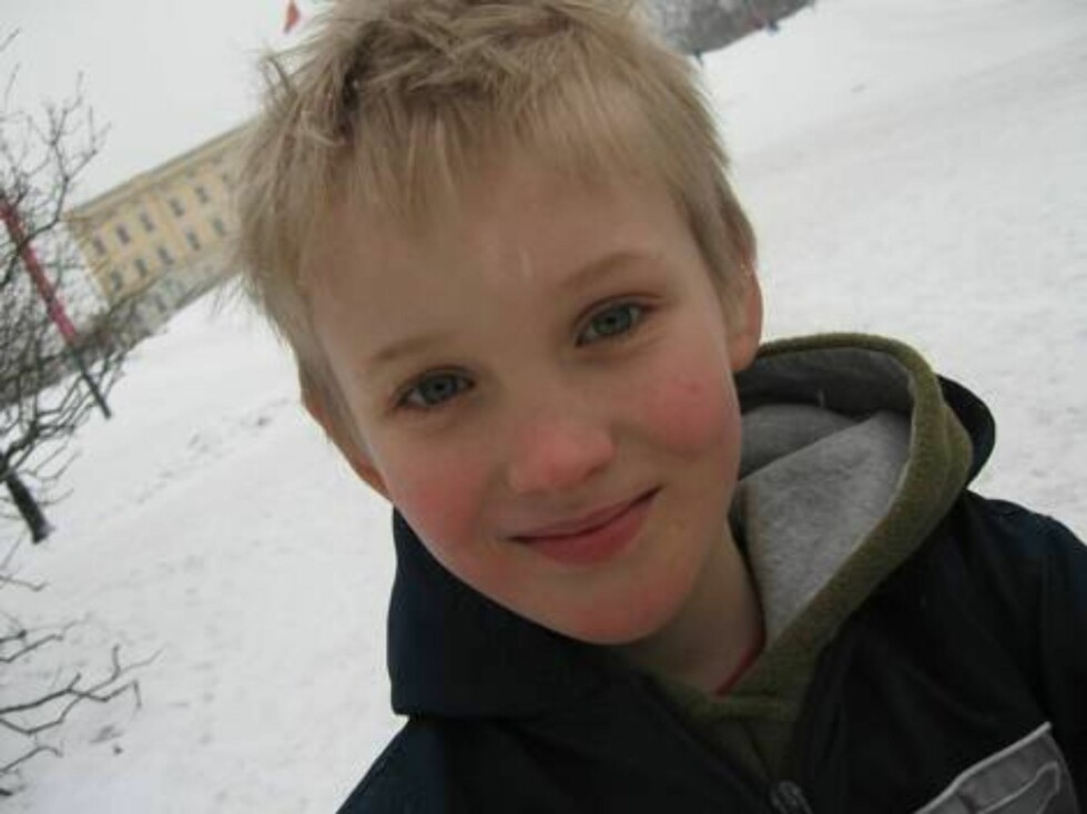 FAVORITT HOBBY: Kevin Eikram (10) ville gitt Kongen en fotball! Foto: Sølvi Jeppesen Raastad