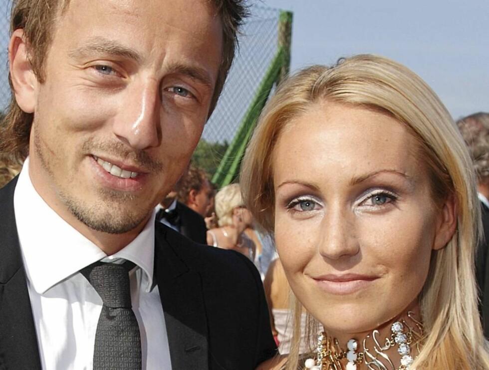 BRUDD: Kjærligheten tok slutt for Kjartan Salvesen og Inger Therese Auestad.  Foto: Se og Hør